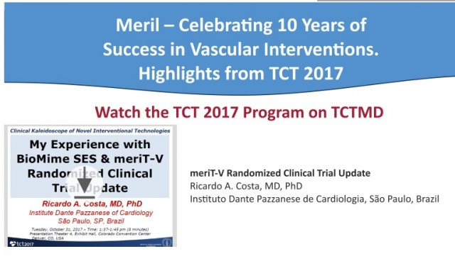 My Experience with BioMime SES & MeriT-V RCT Update Ricardo Costa